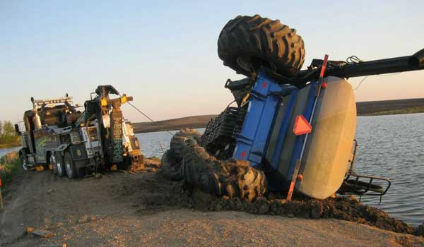 Tipped Tractor