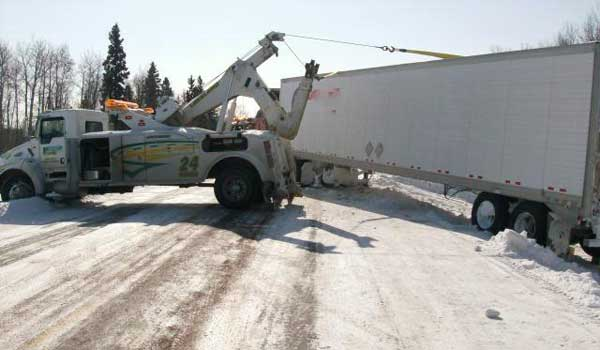Towing Semi